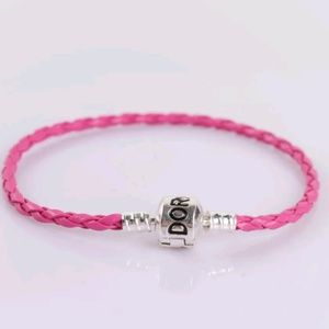 Jewelry - Charm Bracelet With Charms Pink Star Crystal